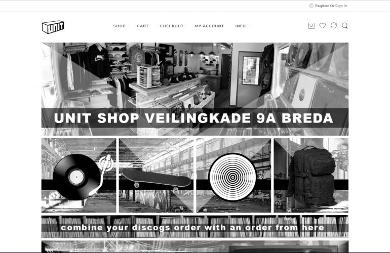 Nieuwe webwinkel UnitBreda.nl